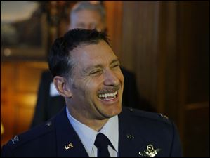 Colonel Craig R. Baker, new Commander of the 180th Fighter Wing.
