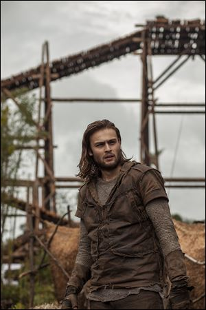 This image released by Paramount Pictures shows Douglas Booth in a scene from