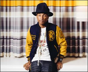 "Pharrell Williams was an adviser to team Usher on season four of ""The Voice,"" and performed the song ""Blurred Lines"" with Robin Thicke on the show last May."