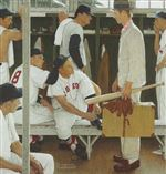 Norman-Rockwell-Red-Sox-Baseball