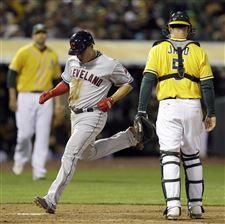 Indians-Athletics-Baseball-4