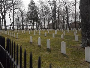 The Confederate Cemetery on Johnson's Island.