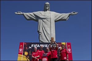 World Cup sponsor Coca-Cola has disclosed contingency plans to soften the celebratory tone of its sponsorship of football's showpiece event in Brazil if unrest returns to the streets.