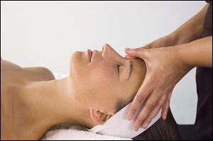 Spa procedures or in-home treatments can rejuvenate dry, flaky skin.