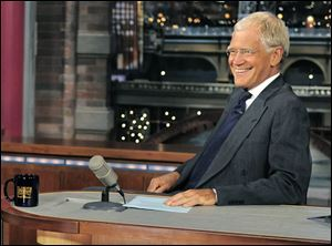 'The Late Show' host David Letterman says he is retiring in 2015.