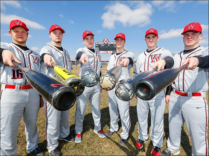 s6wauseon-1 Wauseon has a wealth of talent and experience on its baseball roster, which includes, from left, Nate Suntken, Clay Tefft, Jacob Newlove, Axel Bueter, Josh Kauffman, and Ty Suntken.