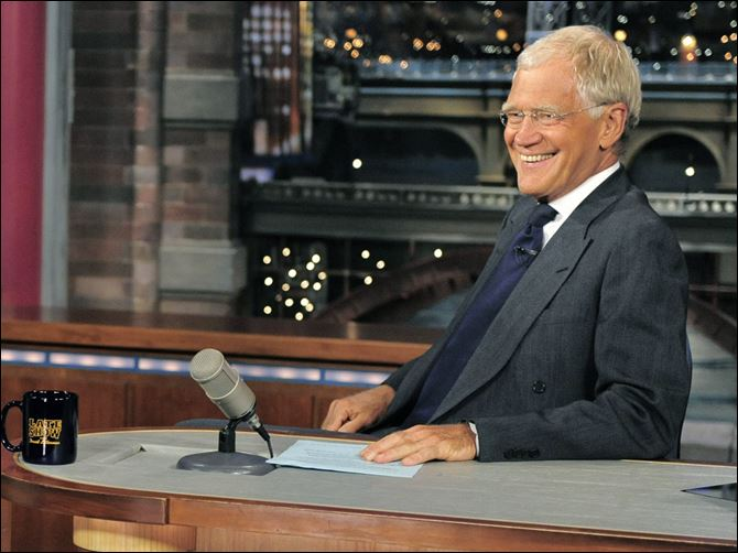 TV CBS Late Show David Letterman 'The Late Show' host David Letterman says he is retiring in 2015.