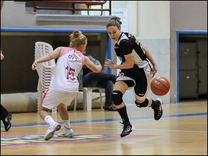 Naama Shafir averages 7.4 points and 4.0 assists per game for Elitzur Ramla in the top Israeli women's pro league.