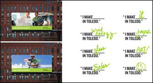 Toledo Region branding initiative example.