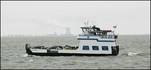 The Miller Boat Line uses four ferries to service South Bass and Middle Bass islands, carrying food, fuel, freight, and mail from the mainland depot on Catawba Island. The Miller Line also transports passengers and their vehicles.