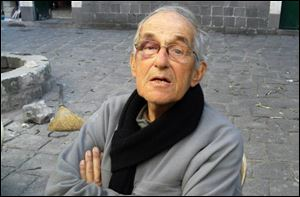 Dutch Father Francis Van Der Lugt, 75, seen in this photo taken last month in Homs, Syria.