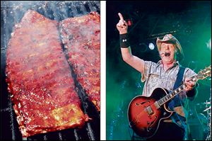 Tickets for the 31st Annual Northwest Ohio Rib-Off go on sale Saturday. Ted Nugent returns as one of the featured musical acts.