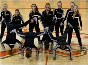 The Southview dance team performs their hip hop dance.