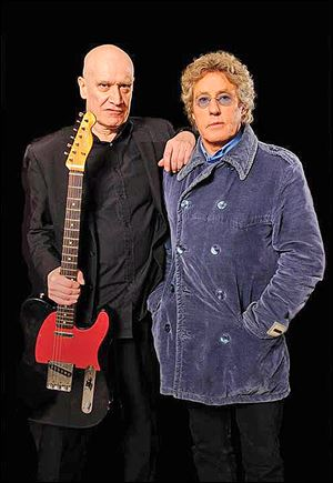 Classic rock stars Wilko Johnson, left, and Roger Daltrey collaborate to release an album featuring tracks mostly of which are Wilko's originals and one track is a cover from Bob Dylan's 'Highway 61 Revisted.'