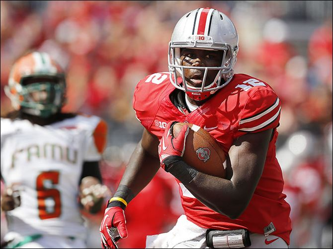 10s5jones-1 Cardale Jones may be counted on this year. Ohio State quarterback Braxton Miller has been hurt every season he's played.