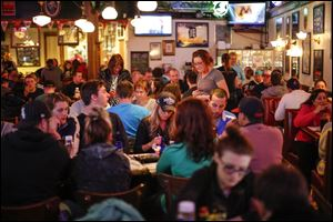 It's a packed house during trivia night on April 3 at Doc Watson's.