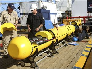 This underwater vehicle is what is searching for the missing Malaysia Airlines Flight 370.