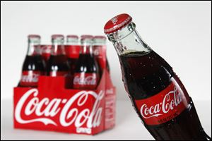 Coca-Cola reported in its first-quarter earnings that it sold more drinks but, for the first time in a decade, less soda.