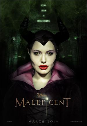 Angelina Jolie stars as Disney's iconic villainess from 'Sleeping Beauty' in  'Maleficent.'