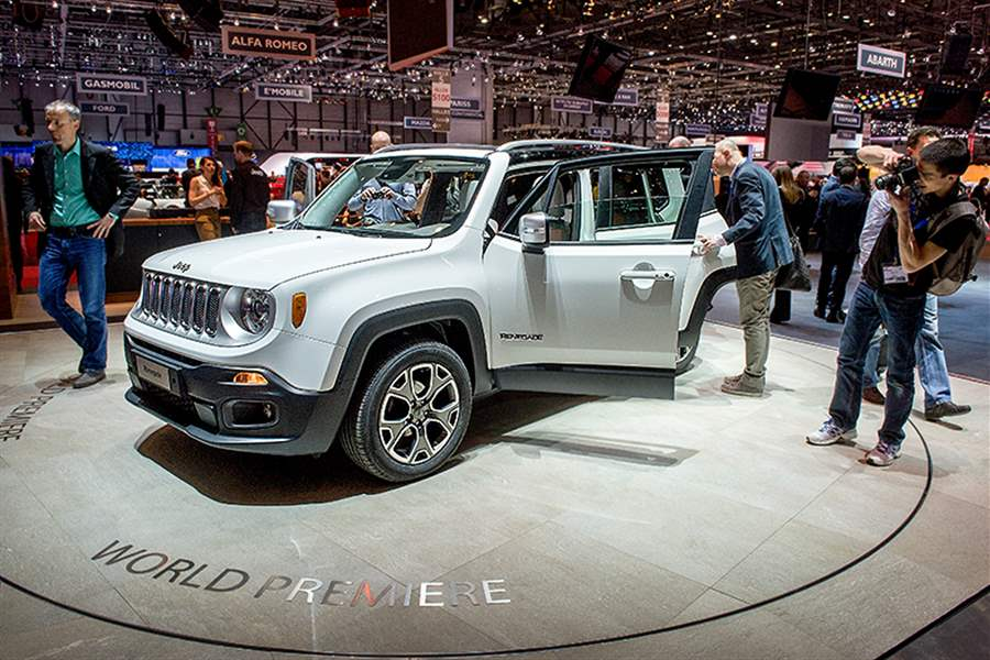Renegade to be first Jeep sold, not built, in North America - The Blade