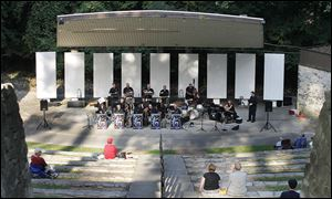 Night Session Big Band performs an evening concert at the Ottawa Park Amphitheater in Toledo in 2011. The amphitheater needs renovations estimated at between $150,000 and $212,000.