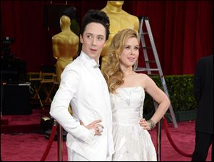 Johnny Weir, left, and Tara Lipinski have been added by NBC as fashion correspondents on its Kentucky Derby coverage next week.