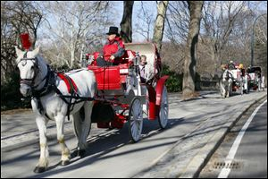 Mayor Bill de Blasio is pulling back the reins on his plans to quickly get rid of New York City's horse-drawn carriage industry.