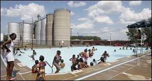 The Jamie Farr Pool in North Toledo and two other pools each need about $50,000 worth of improvements to open this summer.