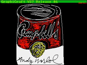 This undated image provided by The Andy Warhol Museum in Pittsburgh, Pa., shows