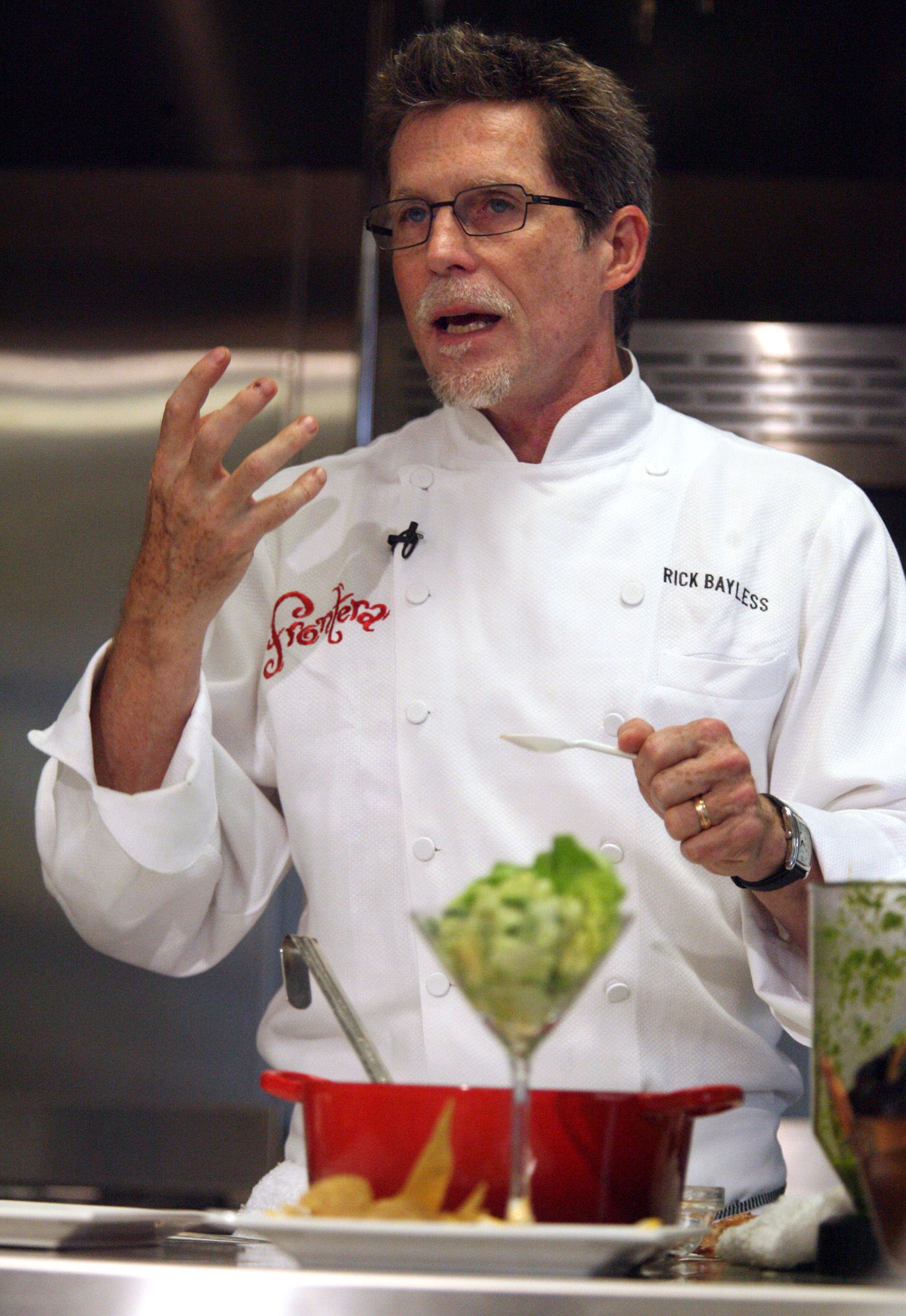 master of mexican cuisine rick bayless has always loved other cultures the blade. Black Bedroom Furniture Sets. Home Design Ideas