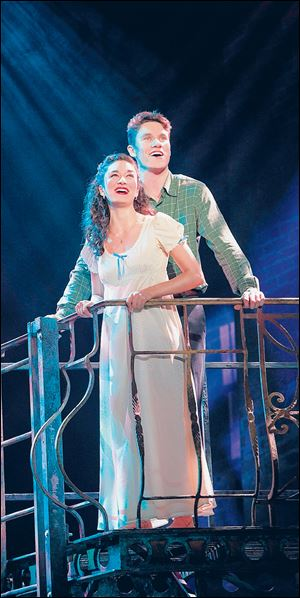 MaryJoanna and Jarrad Biron Green in 'West Side Story.'