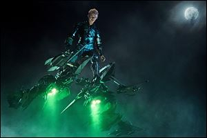 Dane DeHaan as the Green Goblin in a scene from 'The Amazing Spider-Man 2.'