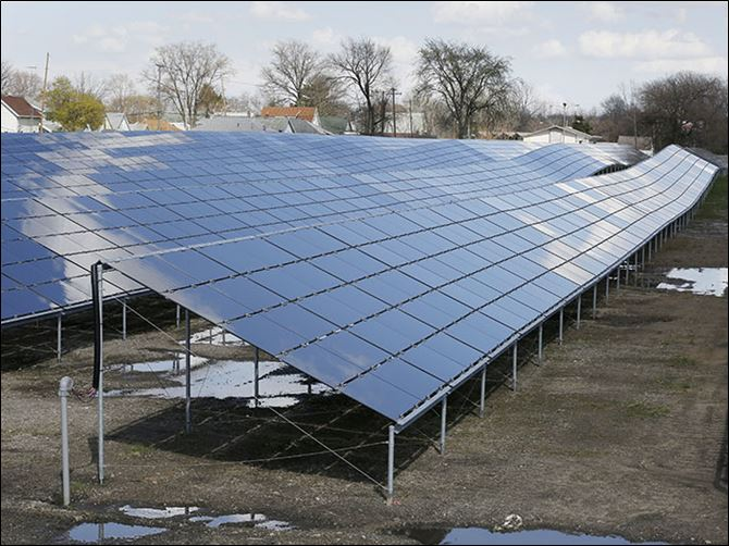 b4energy The massive Rudolph/​Libbe-Toledo Zoo solar project on Spencer Street would suffer if SB 310 is enacted, renewable-energy proponents say.