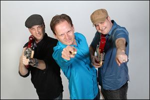 The Bradberries will entertain Friday and Saturday at J. Patrick's Pub at the Holiday Inn French Quarter in Perrysburg.