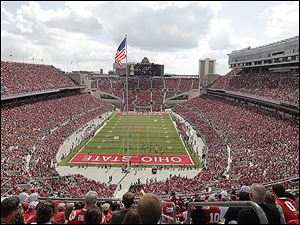Ohio Stadium will have $13.7 million in renovations done over the summer. The upgrades include adding 2,600 seats to the south end zone, new permanent lights, and a new turf field.