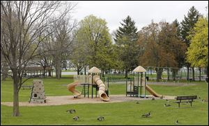 Veteran Memorial Park in Rossford is among the facilities that would benefit from the passage of levies on Tuesday's ballot. Each levy would raise about $49,000 annually for capital improvement and operation expenses.