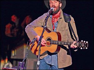 Ray Lamontagne performs at the Shoreline Amphitheatre in 2012 in Mountain View, Calif.