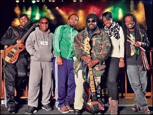 The Wailers, the band of the late great reggae legend Bob Marley, will perform Saturday at H Lounge in Hollywood Casino.