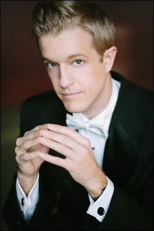 Levi Hammer will conduct the Toledo Symphony at 4 p.m. May 18 in Peninsular Farms, 2716 Whittaker Dr., Fremont.