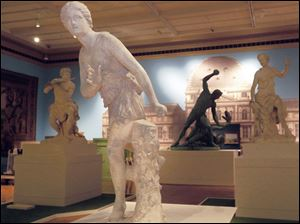 The Art of the Louvre's Tuileries Garden exhibit closes Sunday at the Toledo Museum of Art.