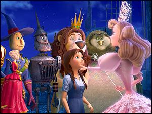 Lea Michelle voices Dorothy in 'Legends of Oz: Dorothy's Return.'