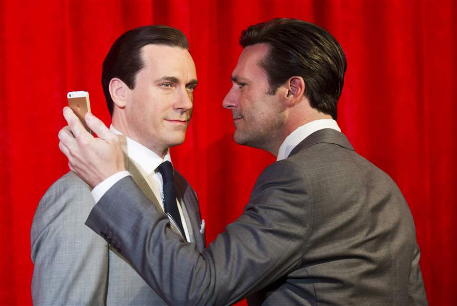 Jon-Hamm-Wax-Figure-Unveiling-At-Madame-Tussauds