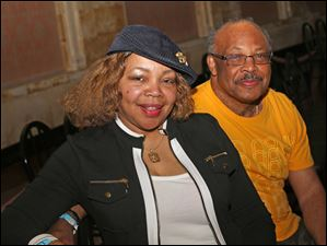 Gail and Roosevelt Grant, of South Toledo, attended the annual Kentucky Derby party at the Toledo Museum of Art in Toledo.