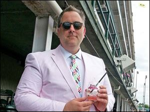Jamie Adams at the Kentucky Derby 2014.
