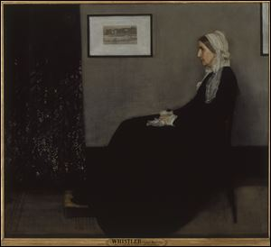 "James Whistler's ""Portrait of the Artist's Mother"" originally had a different title."