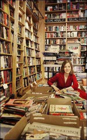 Author Ann Patchett is the co-owner of Parnassus Books, an independent shop in Nashville, Tenn.