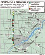 Future-Proposal-new-I-475-U-S-23-interchange