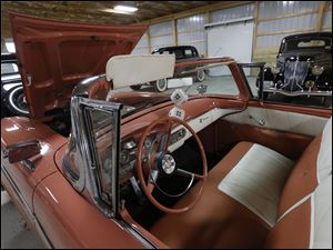 1958 Edsel Pacer that will be auctioned off.