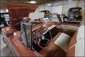 This 1958 Edsel Pacer will be auctioned off at the Erie County Fairgrounds in Sandusky, Ohio.