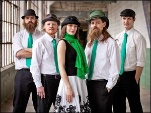 Detroit Irish band Stone Clover will perform Friday at the Blarney Irish Pub.